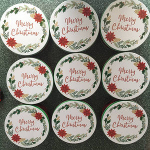 9 X COOKIE / CANDY TINS / CONTAINERS-